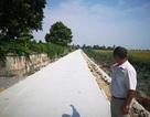 Đường bê tông 7 tỷ nứt khi chưa sử dụng: Do thời tiết nắng nóng?