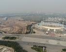 Toàn cảnh đường đua F1 sau 6 tháng thi công nhìn từ trên cao