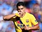 Luis Suarez tỏa sáng, Barcelona tạm vươn lên nhì bảng La Liga