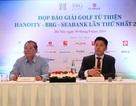 Đài Truyền hình Hà Nội tổ chức giải golf từ thiện HanoiTV- BRG-Seabank
