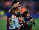 Messi khiến các cổ động viên ngưỡng mộ vì gia đình hạnh phúc