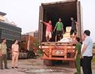 Phát hiện, bắt giữ xe container vận chuyển 6 tấn lòng lợn nhiễm dịch tả lợn châu Phi đi tiêu thụ