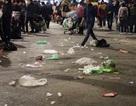 Phố đi bộ Hà Nội ngập rác sau sự kiện đếm ngược chào năm mới 2019