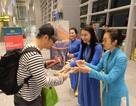 """Nhà ga Cảng Hàng không quốc tế Đà Nẵng đón hành khách """"xông đất"""" năm mới 2019"""