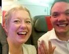 Cặp đôi gặp nhau lần đầu tại sân bay, hạ cánh cưới ngay lập tức