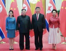 Khoảnh khắc ấn tượng trong chuyến thăm Trung Quốc của ông Kim Jong-un