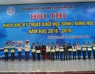 Trao giải thưởng 63 đề tài khoa học-kỹ thuật tiêu biểu khối học sinh THPT