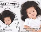 Em bé một tuổi có mái tóc bồng bềnh trở thành... gương mặt quảng cáo gây sốt