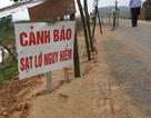 Con đường độc đạo bị sụt lún gây hoang mang cho nhân dân tại Nghệ An