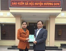 Hà Tĩnh: Cấp thẻ BHYT cho một học sinh bị bỏng nặng
