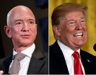 """Ông Trump """"đá xoáy"""" tỷ phú Jeff Bezos vì ly hôn, phải chia đôi tài sản"""