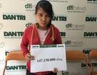 Bạn đọc Dân trí giúp bé Bảo Anh bị bại não hơn 147 triệu đồng