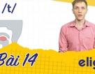 Học tiếng Anh: Phân biệt nhanh và chuẩn âm /t/ và /d/