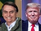 Tân Tổng thống Brazil ca ngợi ông Trump quyền lực nhất thế giới