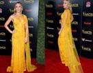 Emily Blunt lộng lẫy với váy vàng