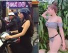 Sự thật bức ảnh thiếu nữ mặc váy ngắn giữa thời tiết 9 độ của Hà Nội