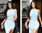 """""""Nghẹt thở"""" với váy ôm sát của Kim Kardashian"""