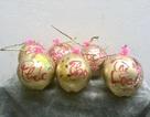 Dừa vàng khắc thư pháp: Hàng độc chơi Tết, dân buôn bán nghìn quả