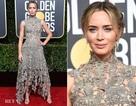 Câu chuyện đằng sau chiếc váy của Emily Blunt tại Quả Cầu Vàng 2019