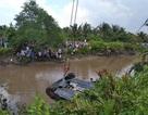 Một thai phụ và 2 thanh niên tử vong trong chiếc xe Mercedes chìm dưới rạch