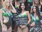 Hoàng Hạnh diện bikini khoe dáng tại Hoa hậu Trái đất 2019