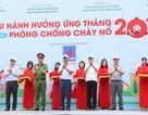 Lễ diễu hành hưởng ứng Tháng phòng chống cháy nổ 2019
