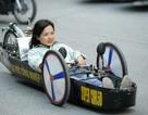 """Sinh viên tự chế xe """"siêu tiết kiệm"""" chạy 1.095 km tốn một lít xăng"""