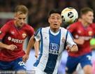 Cầu thủ Trung Quốc đầu tiên ghi bàn ở cúp châu Âu