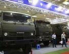 Tận mắt mẫu xe chuyên chở thiết giáp, tên lửa hiện đại hàng đầu ở Hà Nội