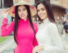 Emily Hồng Nhung đưa Hoa hậu Liên lục địa Karen dạo phố Sài Gòn