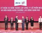 MISA nhận Huân chương Lao động hạng Nhì trong lễ kỷ niệm 25 năm thành lập