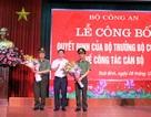 Giám đốc Công an Thái Bình được điều động làm Phó Cục trưởng Cục Cảnh sát Quản lý trại giam