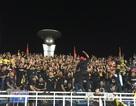 Cổ động viên Malaysia vẫn hát vang trên sân Mỹ Đình dù đội nhà thua trận