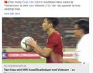 CLB Heerenveen chúc mừng Văn Hậu, khen sức mạnh của tuyển Việt Nam