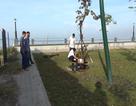 Người đàn ông tự thiêu trong công viên
