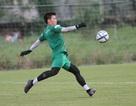 Thủ môn Bùi Tiến Dũng hào hứng trước trận đấu với U22 UAE