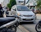 Cảnh sát hình sự bắn thủng lốp ô tô, trấn áp nhóm côn đồ manh động