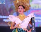Hoàng Hạnh nhận giải đồng trang phục dân tộc ở Hoa hậu Trái đất 2019