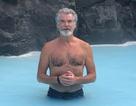 Choáng với phong độ của tài tử Pierce Brosnan ở tuổi 66