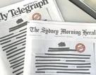Các báo lớn ở Australia bất ngờ đồng loạt bôi đen trang nhất