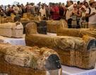Ai Cập công bố 30 quan tài chứa xác ướp 3.000 năm tuổi