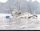 Va chạm với tàu chở đá, một tàu du lịch chìm trên vịnh Hạ Long