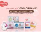Doanh nghiệp ngoại gia nhập thị trường Việt với sản phẩm tã bỉm hữu cơ