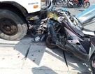 Ô tô tải mất phanh, tông 4 người nguy kịch