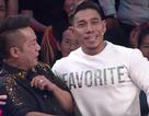 """Minh Nhí bất ngờ """"đọ cơ bắp"""" với Phạm Văn Mách khiến khán giả bật cười"""