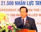"""Bộ trưởng Đào Ngọc Dung: Chỉ còn 400.000 người/năm """"bước vào"""" thị trường lao động"""