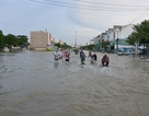 Người dân Sài Gòn vật vã lội nước về nhà