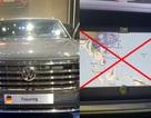 """Tịch thu xe, xử phạt công ty nhập khẩu xe Volkswagen dùng bản đồ có """"đường lưỡi bò"""""""