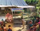 Xót xa cảnh cô trò điểm trường Mầm non sát biên giới Việt - Lào