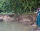 """Lo """"thắt ruột """" bờ kè xây chưa xong, bờ sông tiếp tục bị """"ngoạm"""" tại Đà Nẵng"""